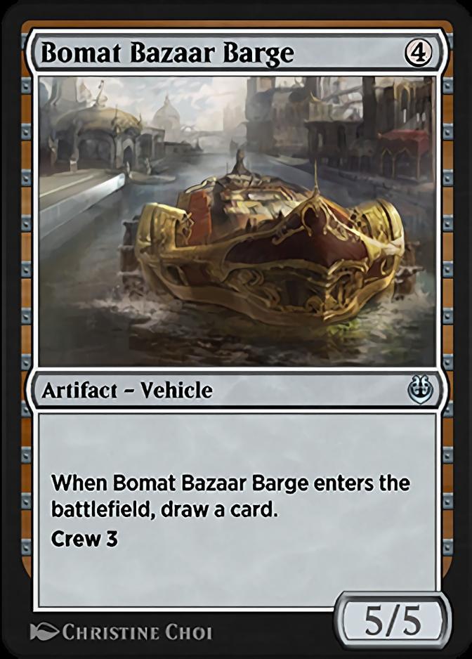 Bomat Bazaar Barge [KLR]