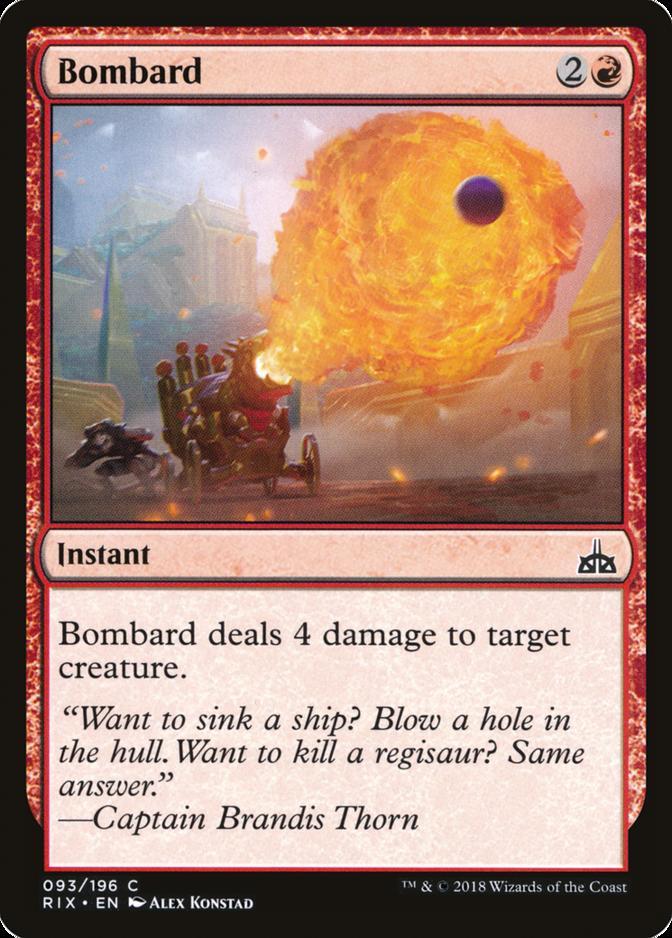 Bombard [RIX] (F)