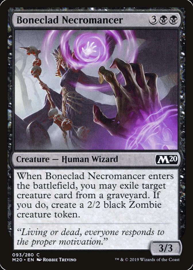 Boneclad Necromancer [M20]