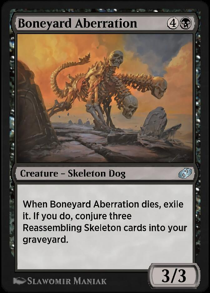 Boneyard Aberration [J21]