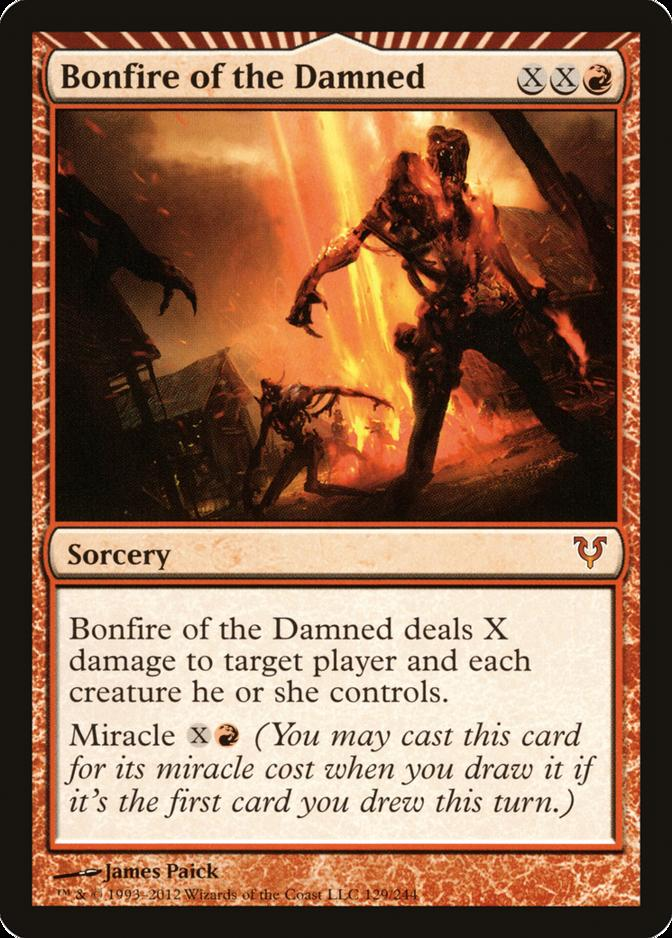 Bonfire of the Damned [AVR]