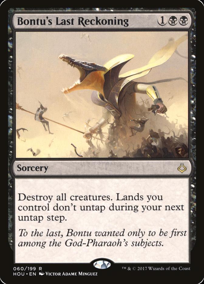 Bontu's Last Reckoning [HOU]