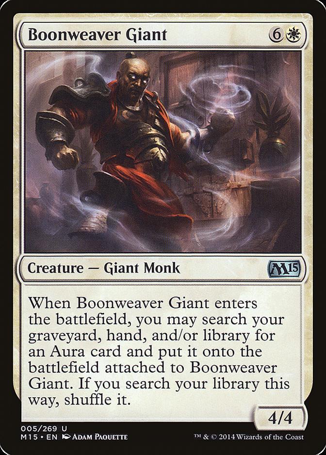 Boonweaver Giant [M15] (F)