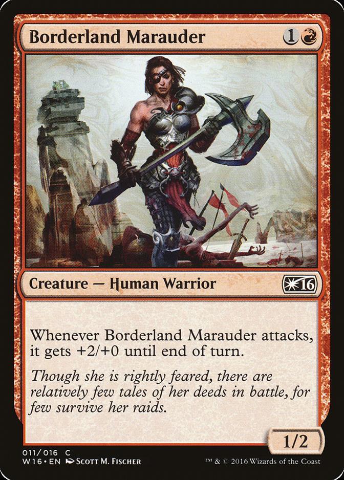 Borderland Marauder [W16]