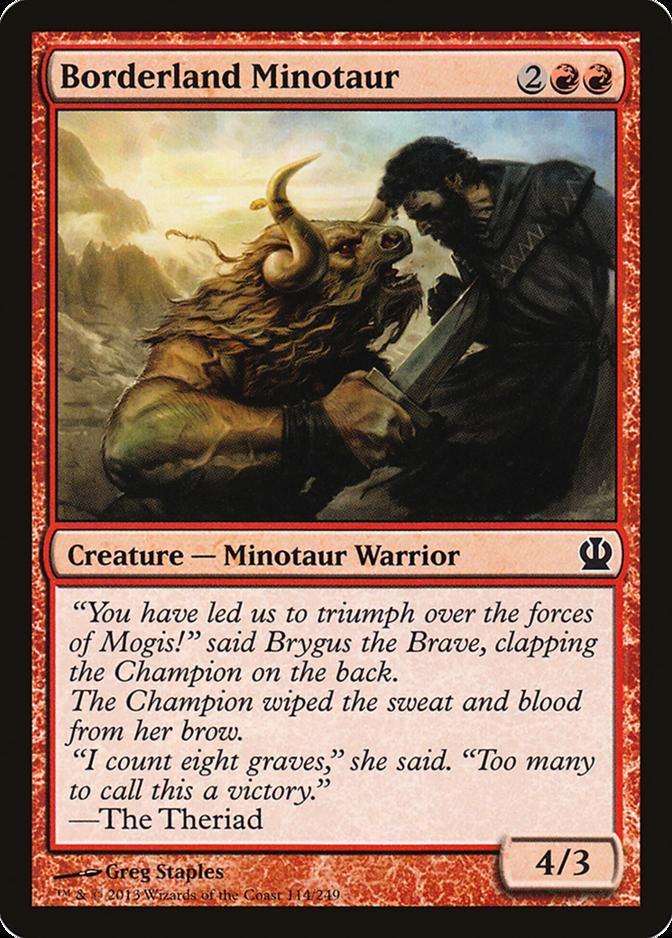 Borderland Minotaur [THS] (F)