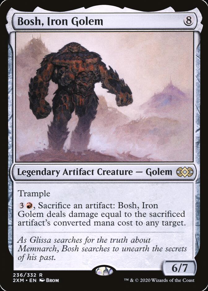 Bosh, Iron Golem [2XM]