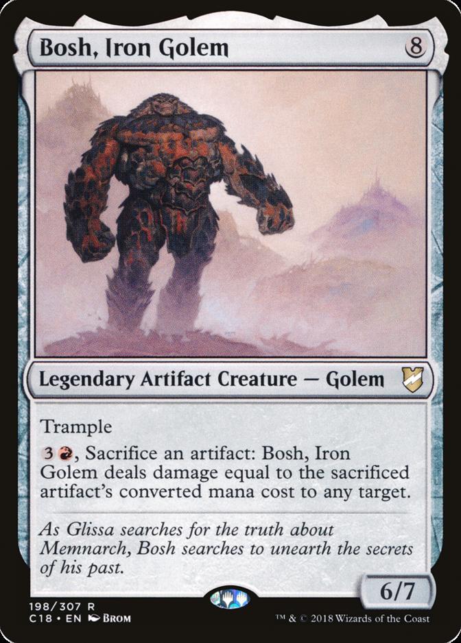 Bosh, Iron Golem [C18]