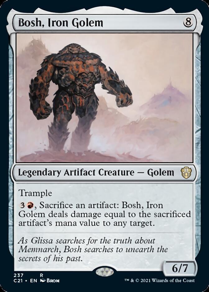 Bosh, Iron Golem [C21]