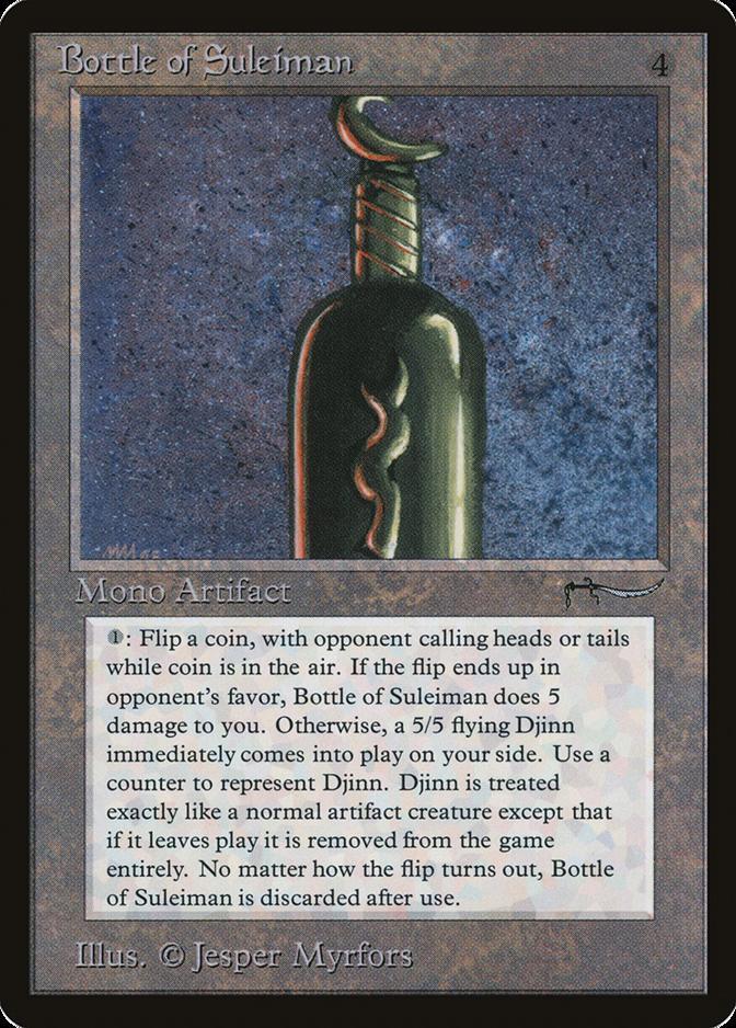 Bottle of Suleiman [ARN]