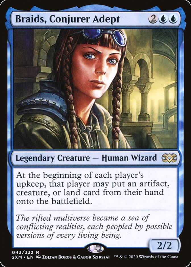 Braids, Conjurer Adept [2XM]
