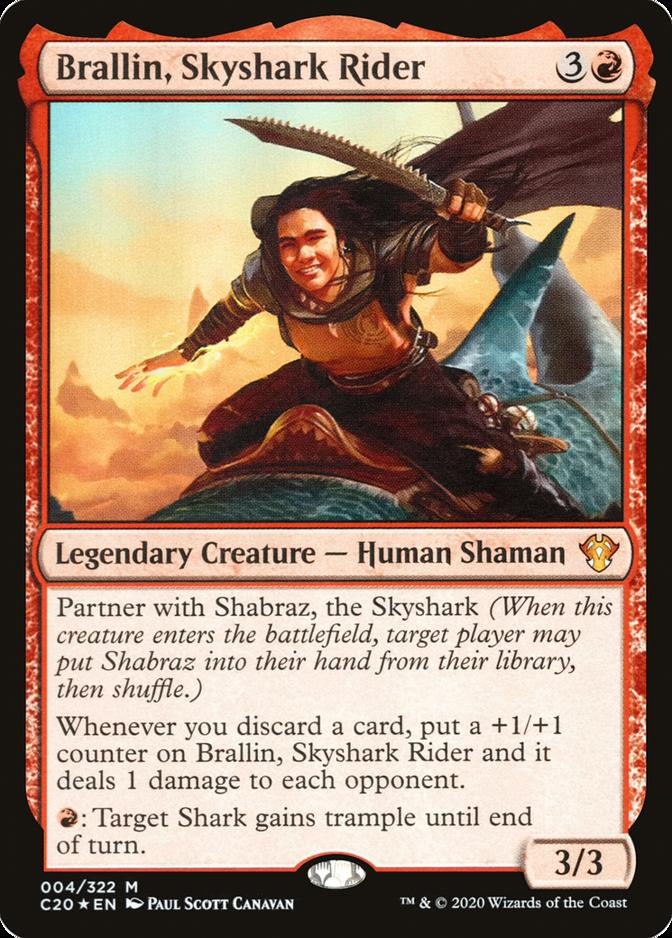 Brallin, Skyshark Rider [C20] (F)