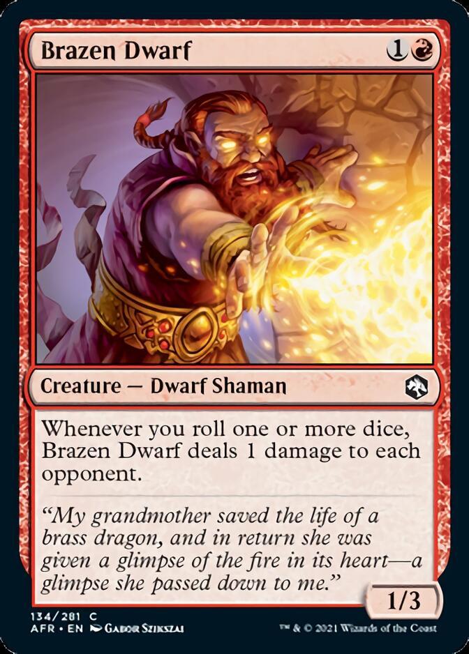 Brazen Dwarf [AFR]