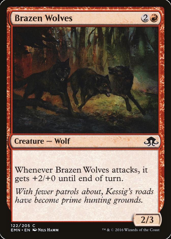 Brazen Wolves [EMN]