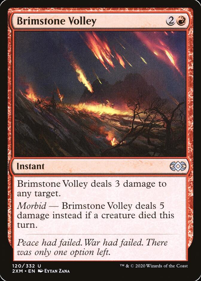 Brimstone Volley [2XM]
