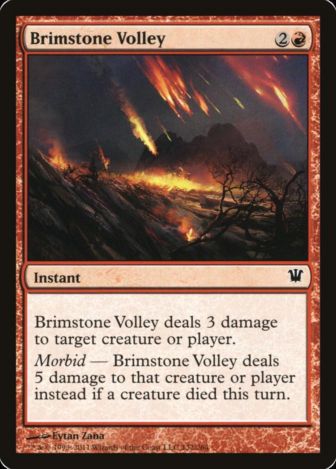 Brimstone Volley [ISD] (F)