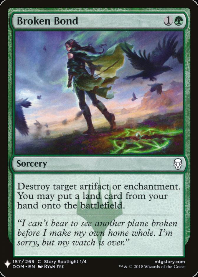 Broken Bond [MB1]
