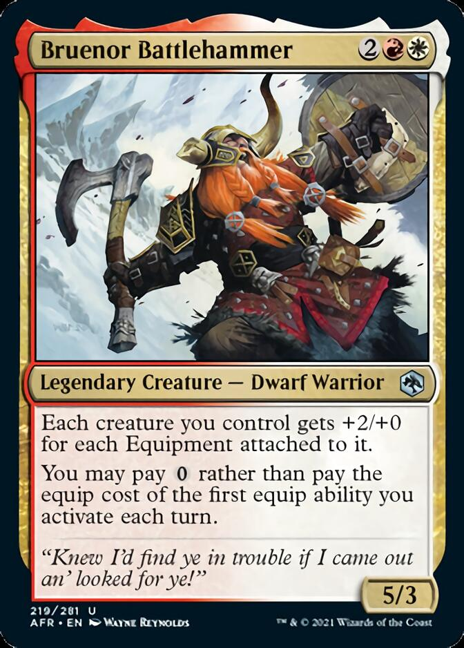 Bruenor Battlehammer [AFR]