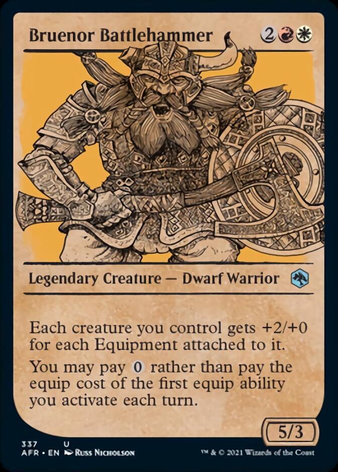 Bruenor Battlehammer <showcase> [AFR]