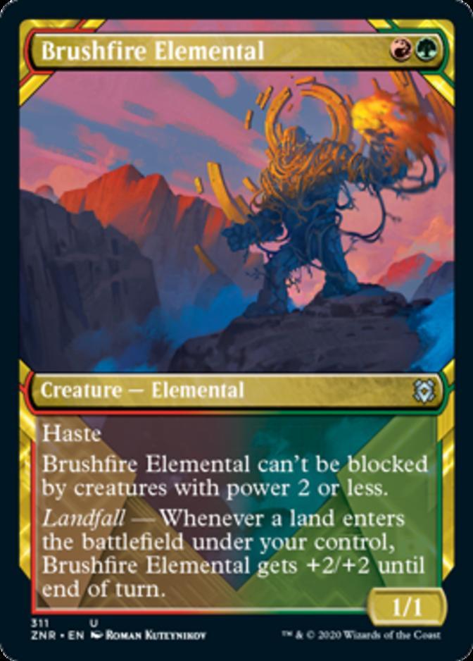 Brushfire Elemental [PZNR]