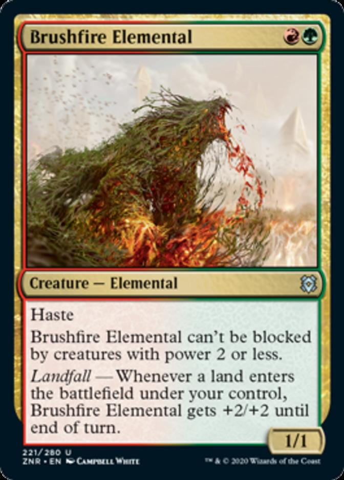 Brushfire Elemental [ZNR]