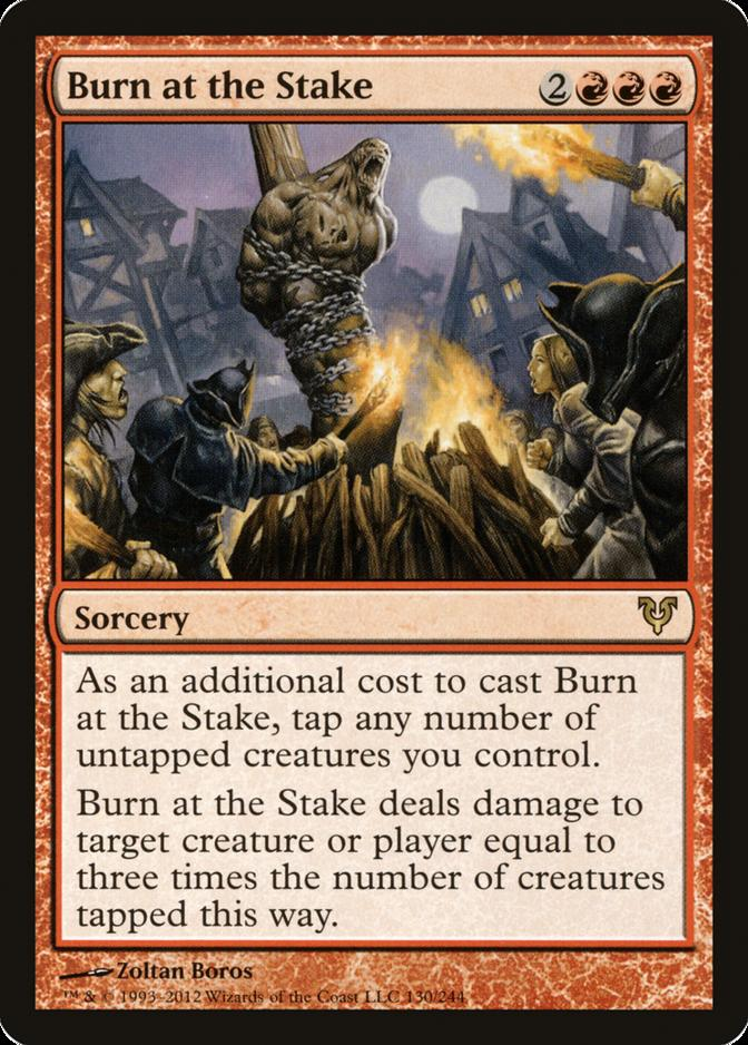 Burn at the Stake [AVR]