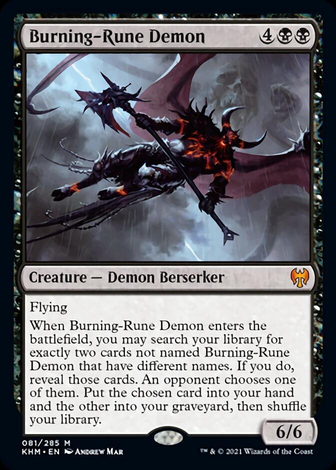 Burning-Rune Demon [KHM]