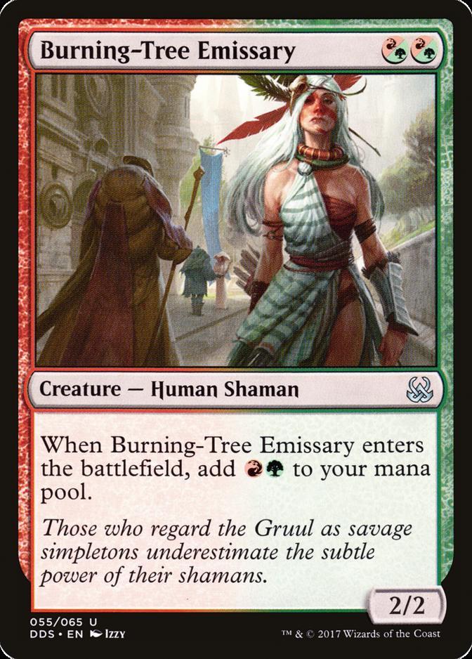 Burning-Tree Emissary [DDS]