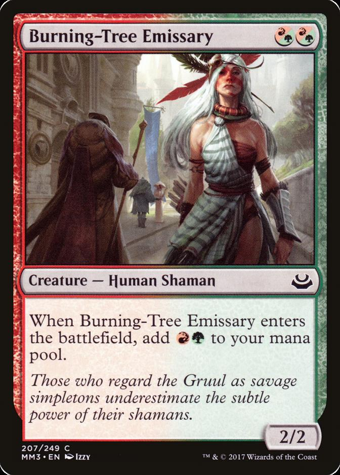 Burning-Tree Emissary [MM3]