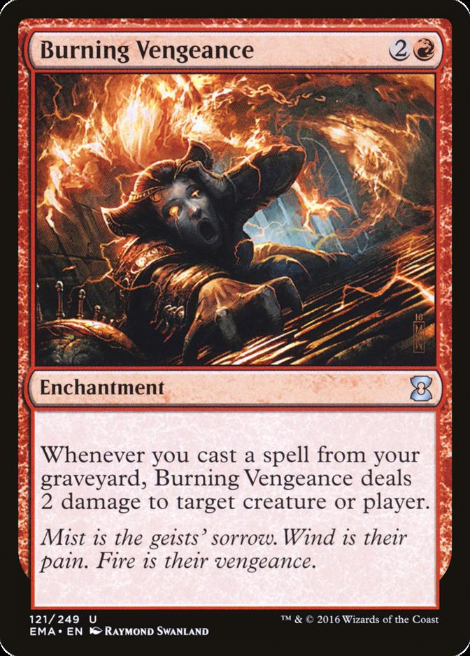 Burning Vengeance [EMA] (F)