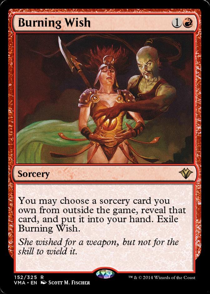 Burning Wish [VMA]