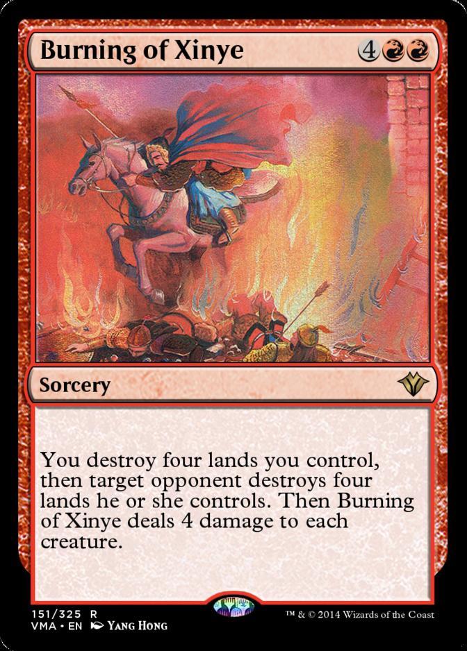 Burning of Xinye [VMA]