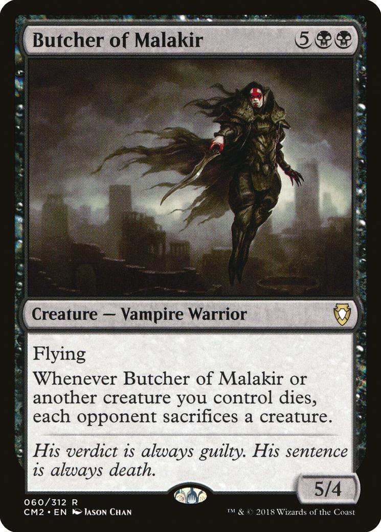 Butcher of Malakir [CM2]