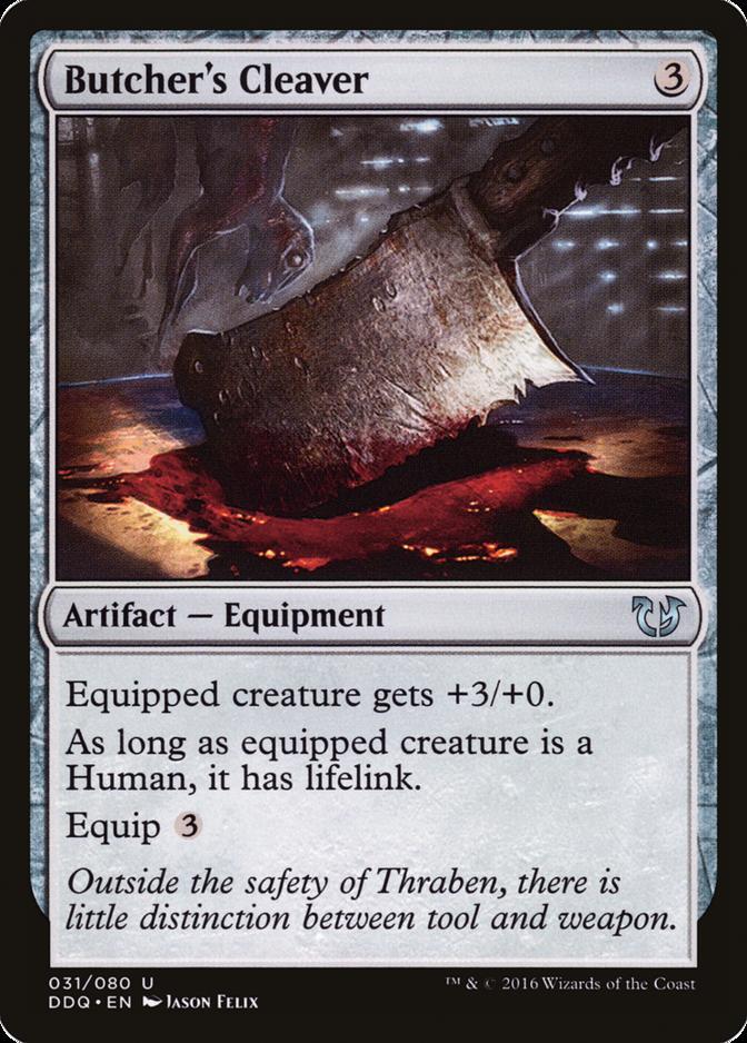 Butcher's Cleaver [DDQ]
