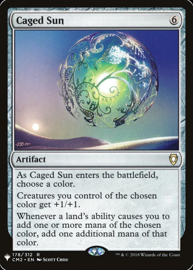 Caged Sun [MB1]
