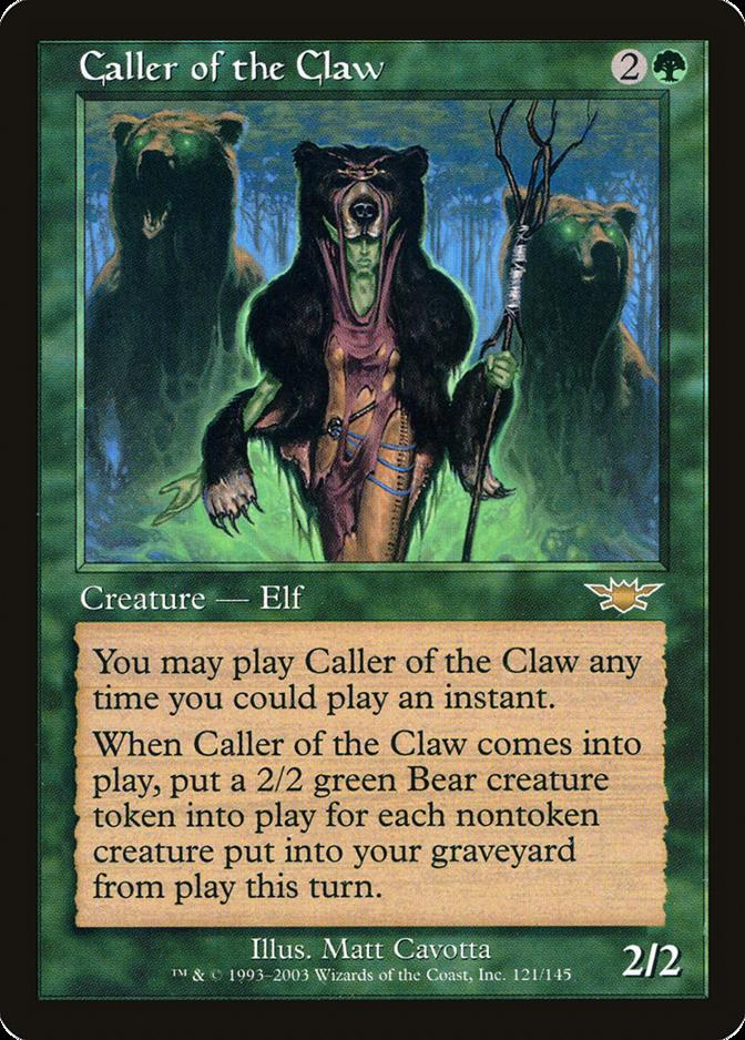 Caller of the Claw [LGN] (F)