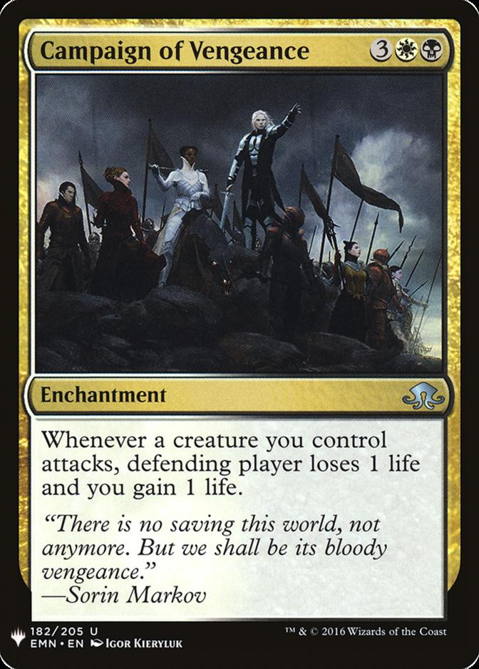 Campaign of Vengeance [MB1]