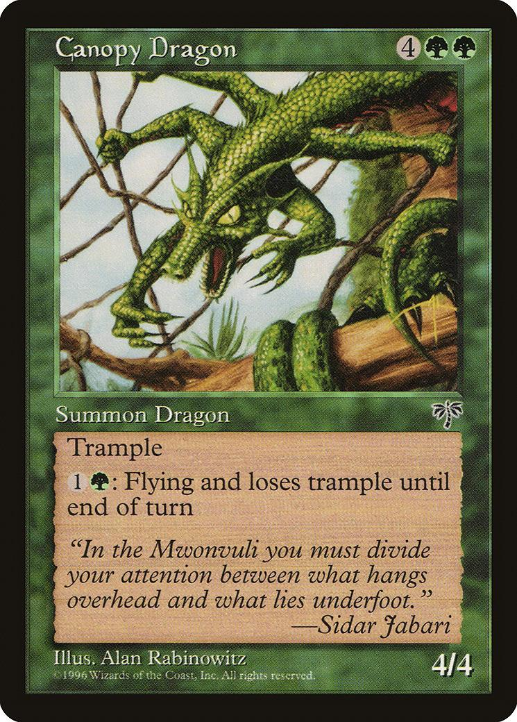 Canopy Dragon [MI]