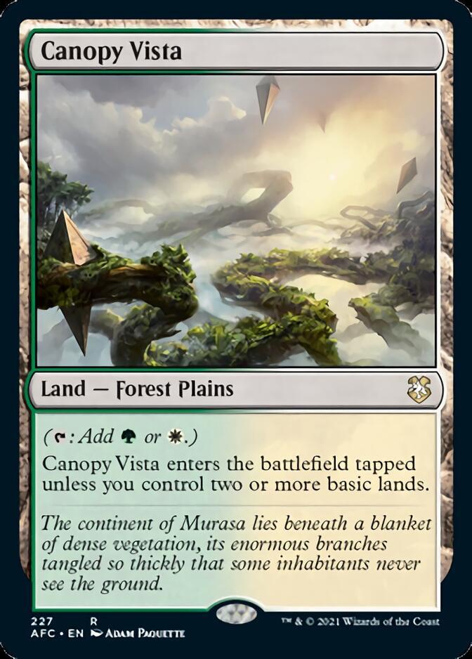 Canopy Vista [AFC]
