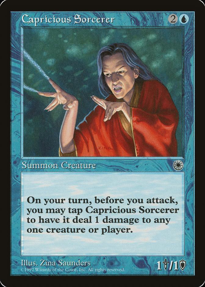 Capricious Sorcerer [POR]