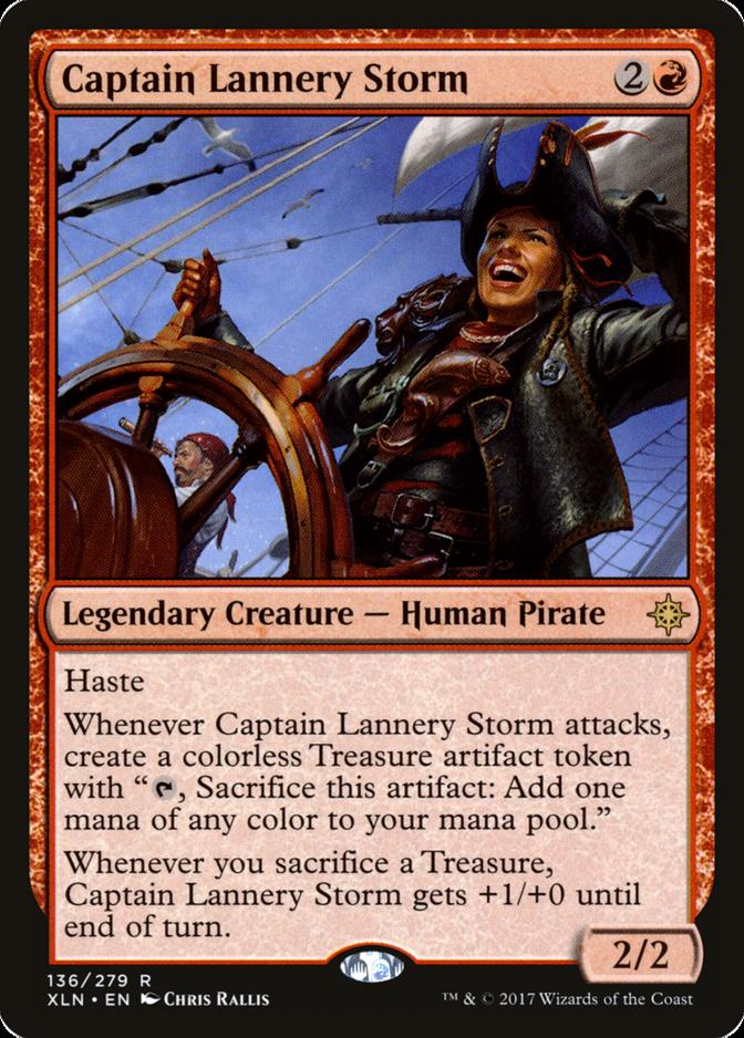 Captain Lannery Storm [XLN]