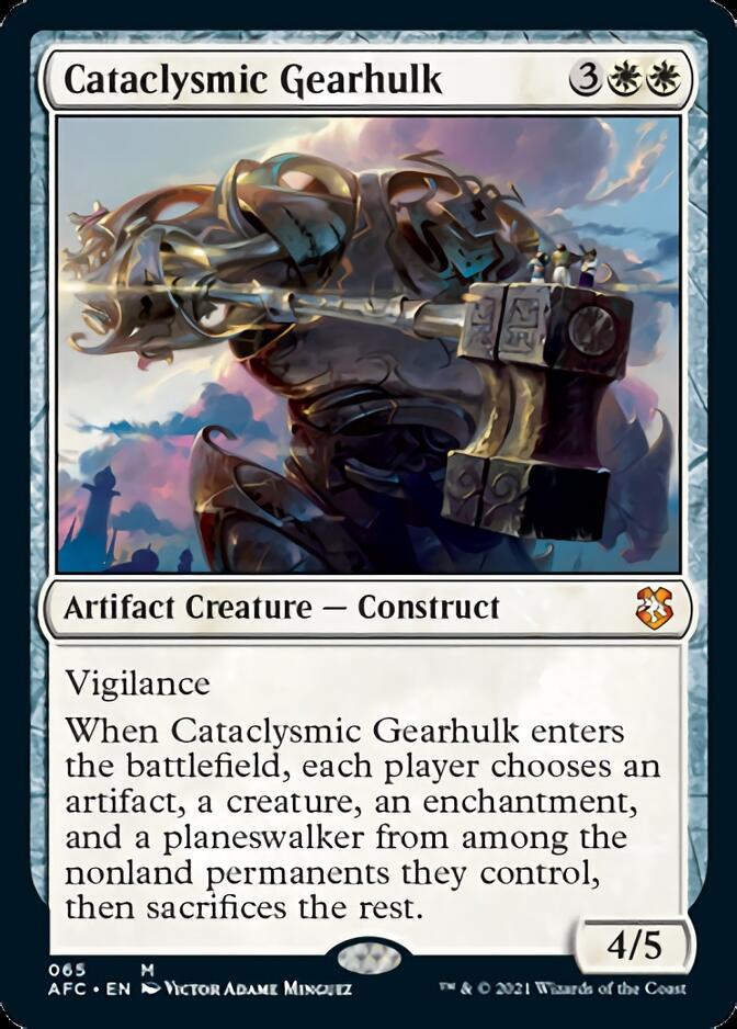 Cataclysmic Gearhulk [AFC]