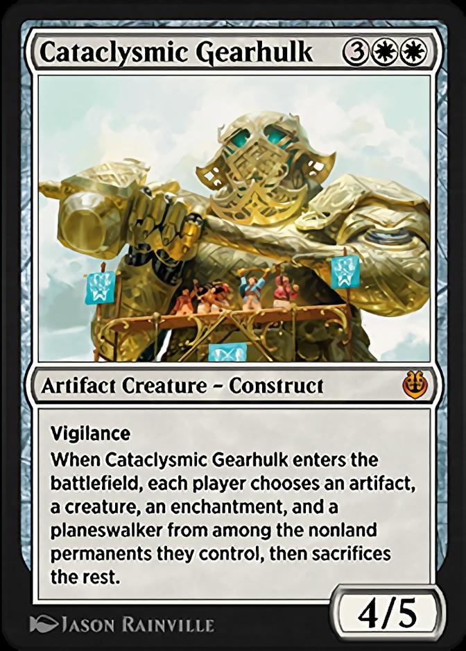 Cataclysmic Gearhulk <masterpiece> [KLR]