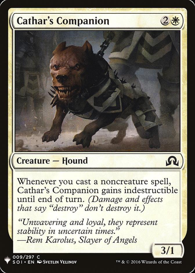 Cathar's Companion [MB1]