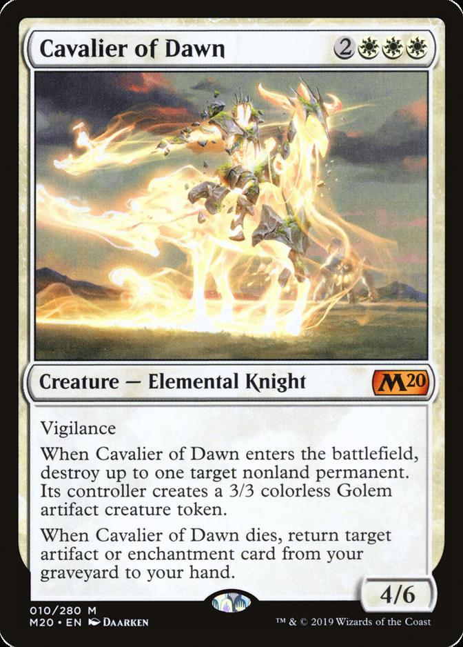 Cavalier of Dawn [M20]