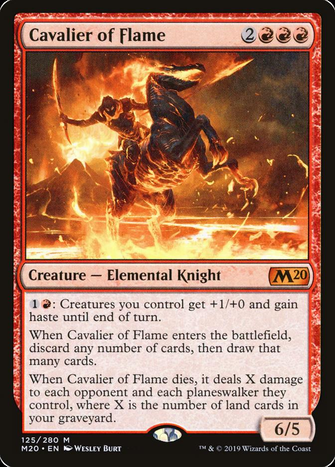 Cavalier of Flame [M20]