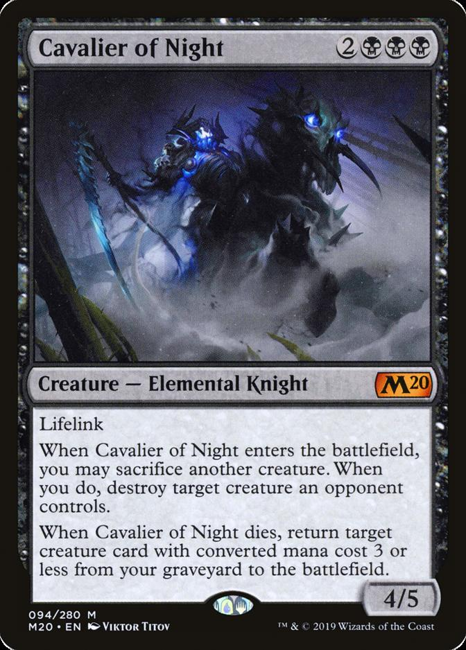 Cavalier of Night [M20]