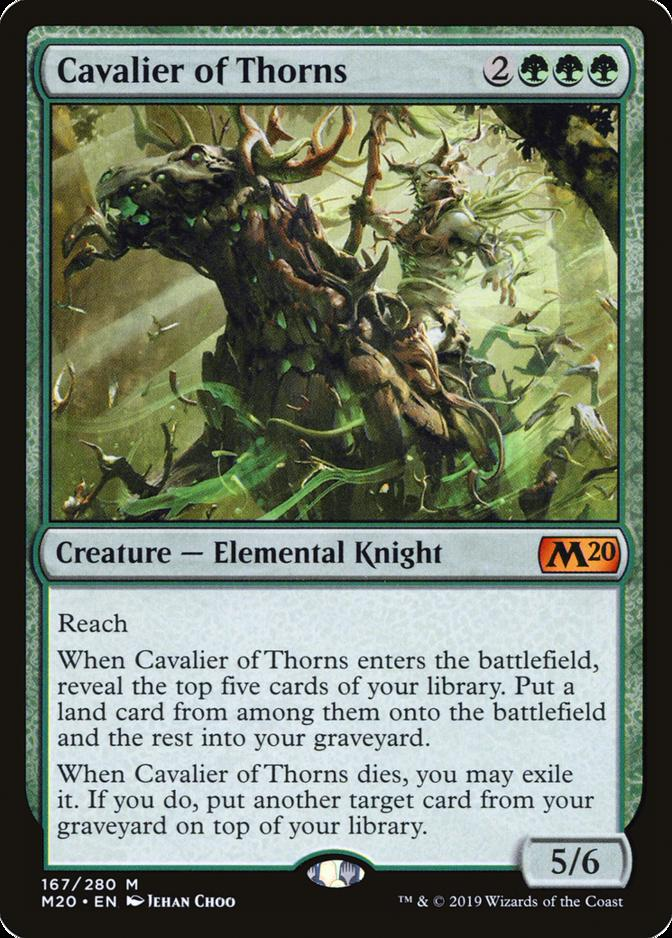 Cavalier of Thorns [M20]