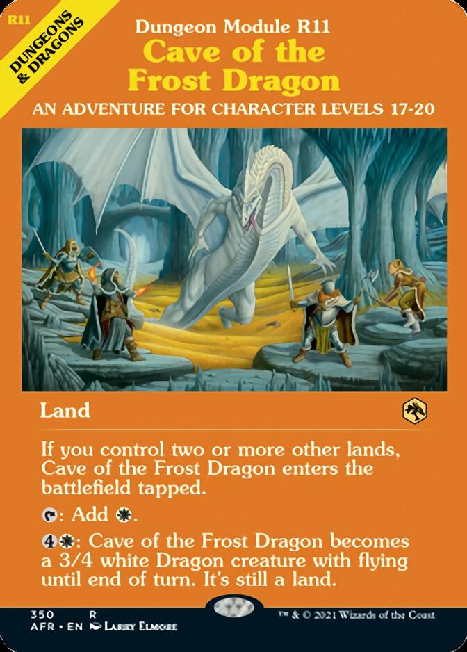 Cave of the Frost Dragon <classic module> [AFR]