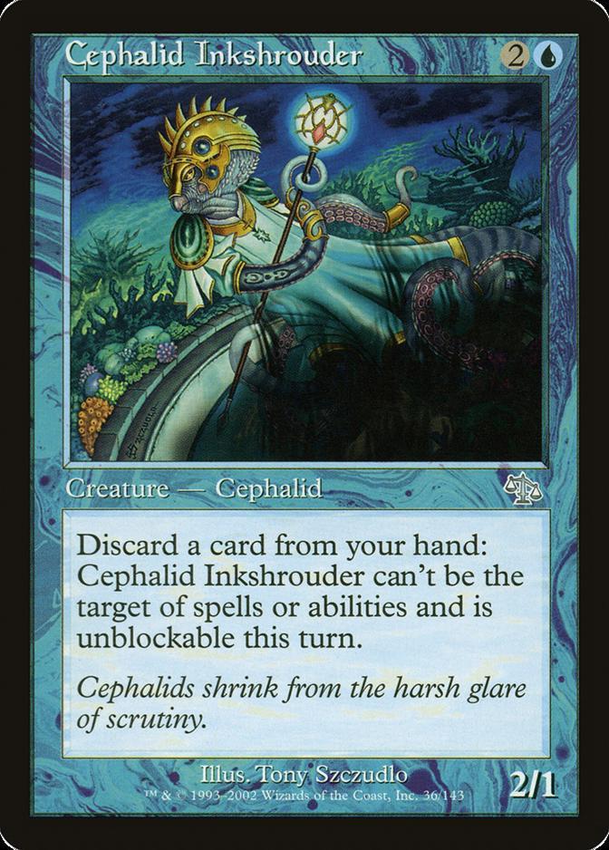 Cephalid Inkshrouder [JUD]