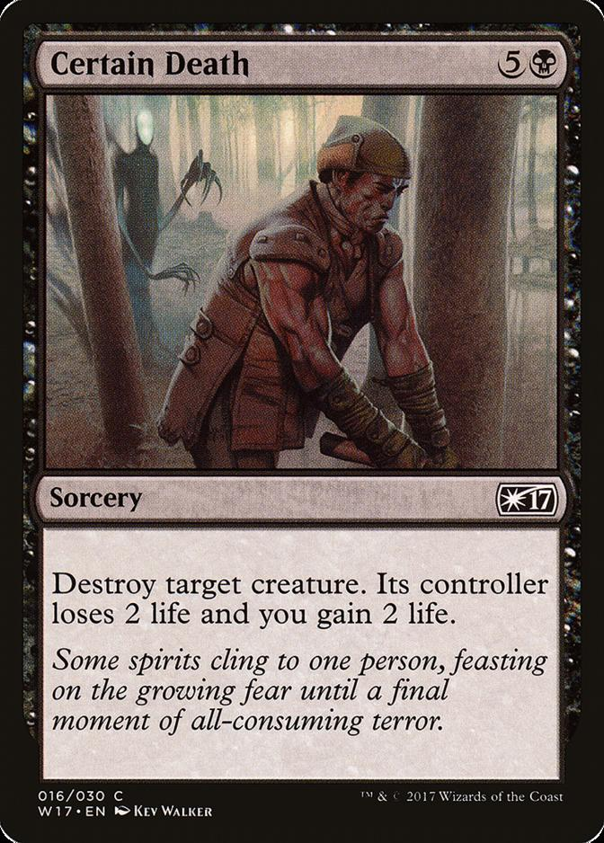 Certain Death [W17]